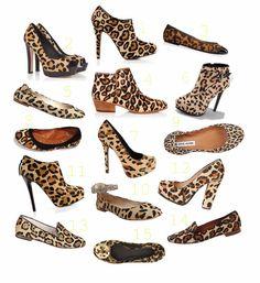 O My Heart!: Leopard Shoe Extravaganza!