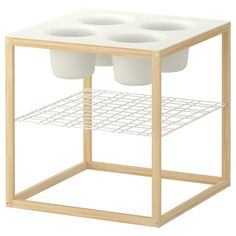 IKEA PS 2012 Side table with 4 bowls - IKEA - Perfect for a kid crafting or art table