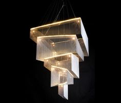 Ceiling suspended chandeliers | Chandeliers | Geometric Storm. Check it out on Architonic