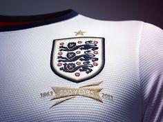2013 England National Team Home Kit by Nike