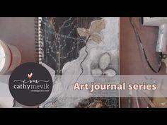 Art journaling - A mixed media art journal experience. - YouTube
