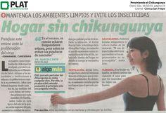 Clínica San Felipe: Prevención frente al chikungunya en Ojo de Perú (16/02/15)