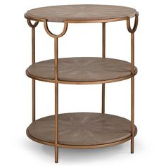 Vogue Shagreen Side Table