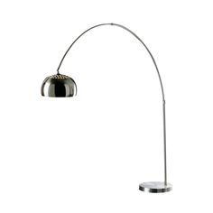 Arco Style Copper Floor Standing Drop Light - This Copper finish ...