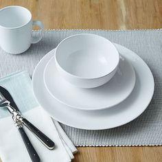 West Elm Organic Shaped Dinnerware Set