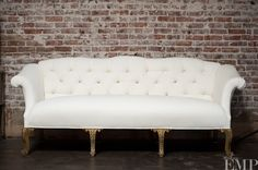 white vintage couch. Found Vintage Rentals: Houston Cream Couch | Lounges Pinterest Vintage, Lounge Furniture And Living Rooms White E