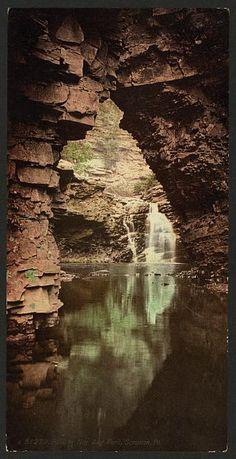 Falls in Nay Aug Park, Scranton, Pa.