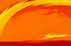 From the Plains II, by Georgia O'Keeffe