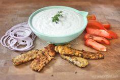 Vegan Tzatziki | www.veggiesdontbite.com | #vegan #plantbased #glutenfree
