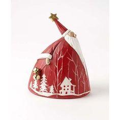 Eccentric round Nordic Santa