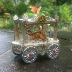 Sebnitz Circus Wagon  by Betsy Browning Currently for sale on ebay
