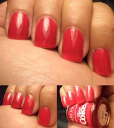 This is the second Nails Inc polish that I have from the Diet Coke promotion Diet Coke, Nails Inc, Milan, Promotion, Polish, Vitreous Enamel, Nail, Nail Polish, Nail Polish Colors