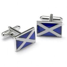 Manchetknopen Schotse Vlag