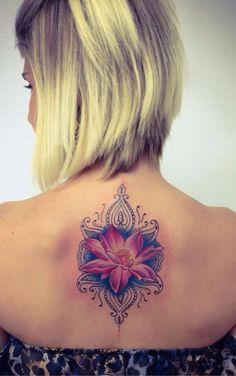 flor de lotus   Tatuagem.com (tatuagens, tattoo)