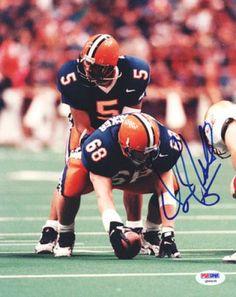 Donovan McNabb Autographed Syracuse Orange 8x10 Photograph - PSA/DNA - Sports Memorabilia