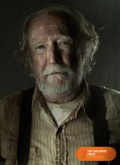 """Scott Wilson es """"Hershel Greene"""".  The Walking Dead - Martes 22.00  #TWD3ENFOX Mira contenido exclusivo en www.foxplay.com"""