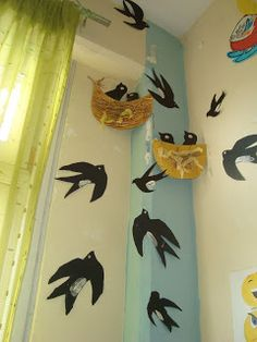 Preschool Art Projects, Preschool Crafts, Spring Art, Spring Crafts, Bird Nest Craft, Cute Kids Crafts, Arts And Crafts, Paper Crafts, Quilling Craft