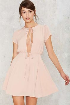 Ties & Lows Fit & Flare Dress   Shop Clothes at Nasty Gal!