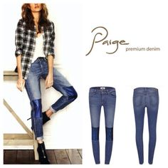 "Paige Verdugo Ultra Skinny Jeans.  NWT. Paige Mid Rise Verdugo Ultra Skinny Jeans, 92% cotton, 6% elastomultiester, 2% elastanne, machine washable, 28"" waist, 8.5"" front rise, 13"" back rise, 28.5"" inseam, 9.75"" leg opening (all around), five pockets, belt loops, measurements are approx.  No Paypal....No Trades.... Paige Jeans Jeans Skinny"