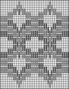 bargello stitches | Stitch Chart for Persian Bargello Needlepoint Medallions Decorative Stitch Pattern
