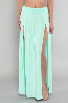 Double slit maxi skirt...has been delivered and I can't wait to get it!!