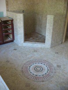 Bathroom Shower & Floor Tile