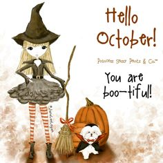 Princess Sassy Pants Hello October