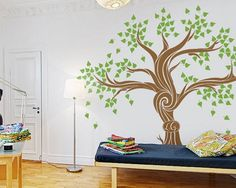 Vinyl Wall Decal nursery Large Photo family tree picture frame leaf trees home house Art wall Decals Wall Sticker baby room kid 903