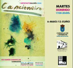 """CORES DE CAMBADOS: O VENRES INAUGÚRASE  A EXPOSICIÓN """"CANCIONERO"""" DE ..."""