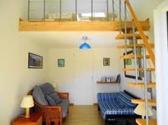 Image result for small room with mezzanine