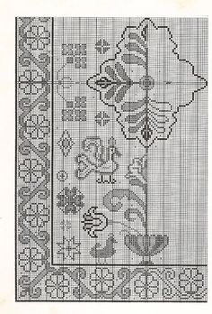 Tapetes Arraiolos: gráfico para arraiolos 1