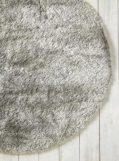 Duck egg, Glisten shaggy rug collection