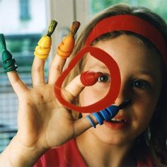 FINGERMAX - Kindergeburtstags Set (15 Stück Fingermaxpinsel)
