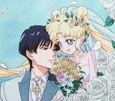 Pretty Guardian in a Sailor Suit Sailor Moon Sailor Stars, Sailor Moon Crystal, Arte Sailor Moon, Sailor Moon Fan Art, Sailor Uranus, Sailor Scouts, Sailor Moon Wedding, Manga Anime, Anime Art