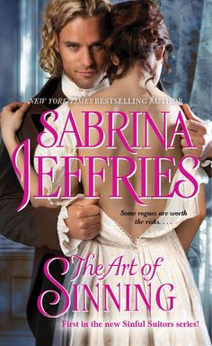 Cover Love- The Art of Sinning by Sabrina Jefferies, Does this guy do it for you?