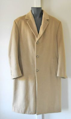 Camel Hair Coat by Stafford; $39.99