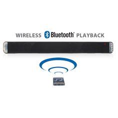 Slimline Bluetooth Wireless TV Sound Bar Hi-Def Speaker System for Smartphones Home Speakers, Wireless Speakers, Bluetooth, Speaker System, Dark Circles, Improve Yourself, Smartphone, Audio, Bar