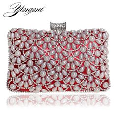 YINGMI Women Even... from the The Grasshopper Gallery!  Take a look!  http://www.thegrasshoppergallery.com/products/yingmi-women-evening-bags-beaded-wedding-handbags-with-chain-shoulder-day-clutch-messenger-purse-for-dinner-party-bag?utm_campaign=social_autopilot&utm_source=pin&utm_medium=pin