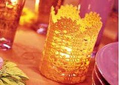 nawar al sneed: crochet Crochet Case, Crochet Diagram, Crochet Patterns, Crochet Ideas, Diy Lampe, Make A Lamp, Crochet Christmas Decorations, Christmas Ideas, Easter Crochet