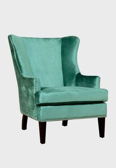 Winchester Velvet Arm Chair just nix the velvet, keep the color, and thats pretty cool!
