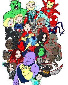 Avengers: Infinity War medley