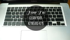 How To Clean Keyboard Keys (Macbook Pro).