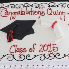4010 Cap and Diploma Cake