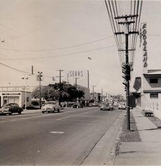 Sears and Foodland, Beretania Street, 1954 Cancun Hotels, Beach Hotels, Beach Resorts, Honolulu Hi, Oahu Hawaii, Spain Travel, Mexico Travel, Hawaii Homes, Vintage Hawaii