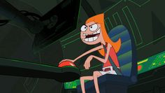Phineas e Ferb Candace Flynn gif