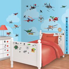 Walltastic Disney Planes Room Decor Kit   Http://godecorating.co.uk