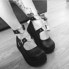 Demonia Sprite shoes... for cute goths.