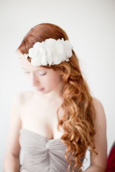 gorgeous floral halo with a dash of boho beauty Accessory by sibodesigns.com