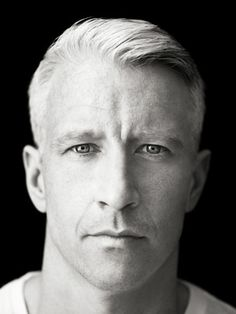 Anderson Cooper by Richard Phibbs-My super secret TV gusband! I love when he giggles uncontrollably