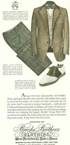 Brooks brothers clothing is amazing Best Dressed Man, Sharp Dressed Man, Brothers Clothing, Ivy Style, Men's Style, Country Wear, Preppy Men, Classic Outfits, Classic Fashion